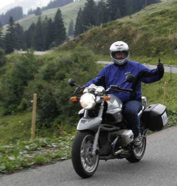 BMW Motorcycle Tour