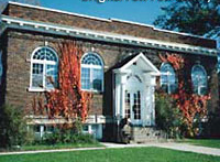The Carnegie Library in Paw Paw.
