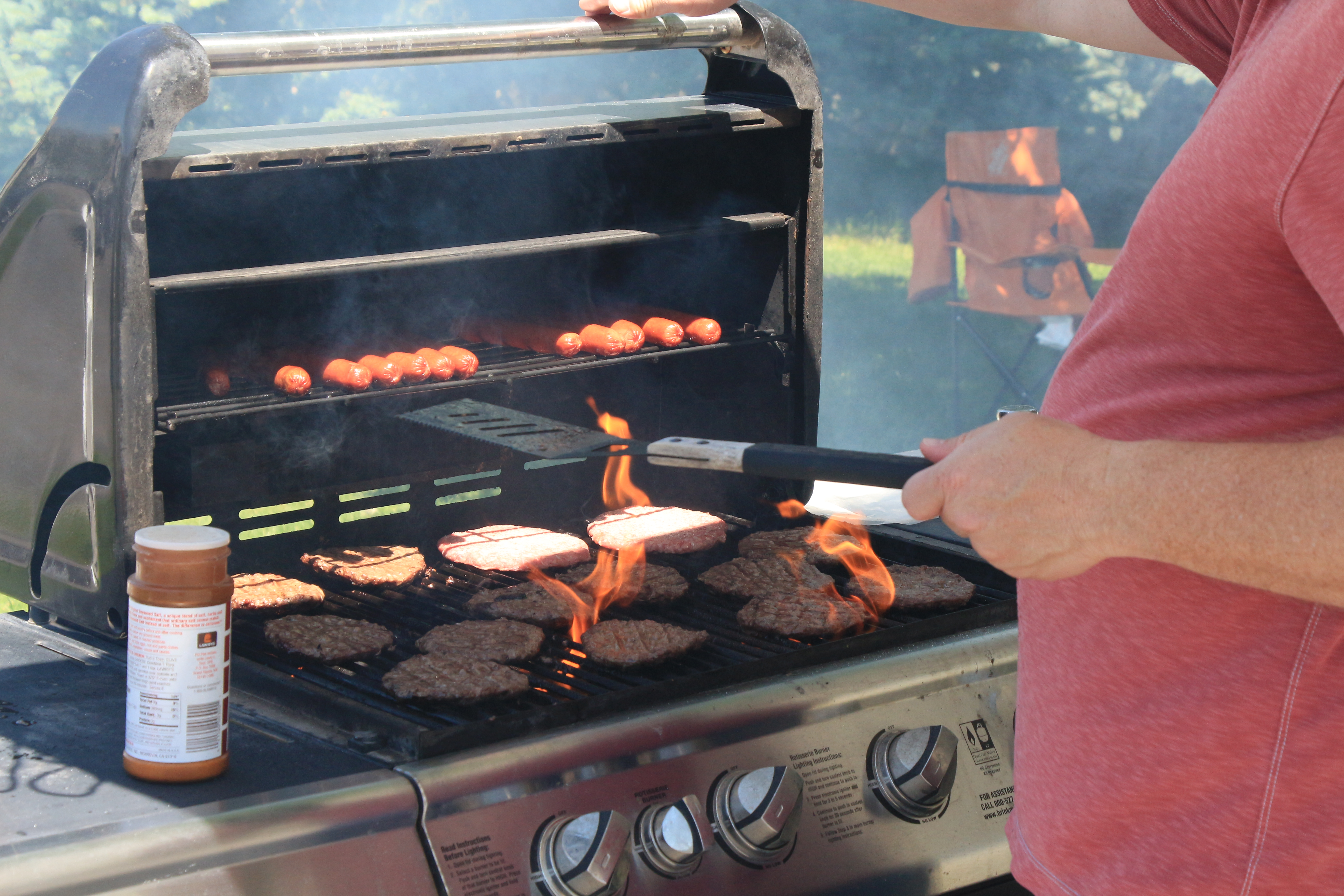A grill-out last summer at our Newscycle Solutions office.