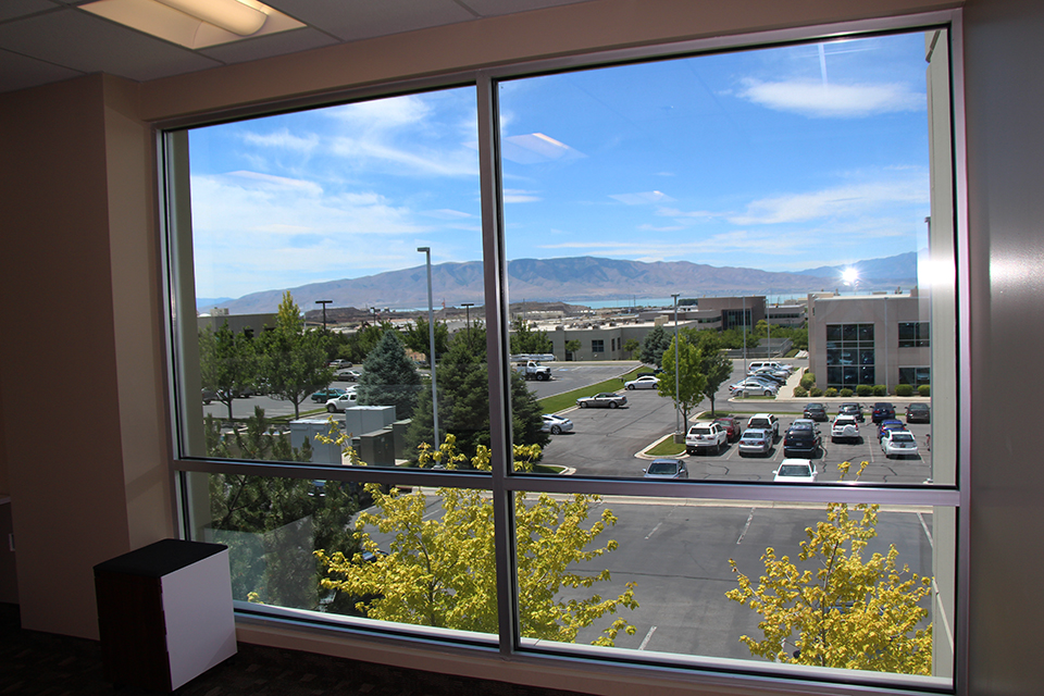One of the amazing Utah views from my office.