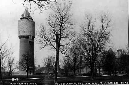 Kalamazoo Asylum Water Tower (viewsofthepast.com)